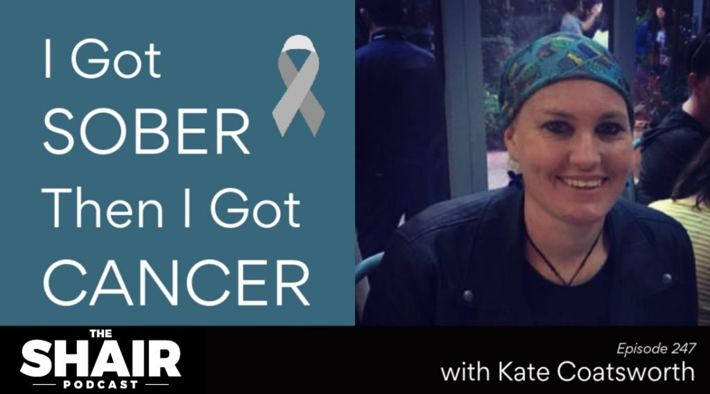 staying sober with cancer