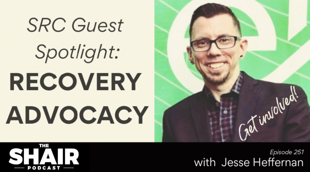 how to get into recovery advocacy