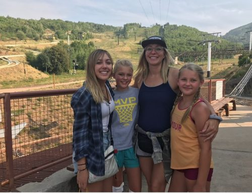 """I'm a single, sober mom to 3 amazing, beautiful daughters."" – Brandi Merrill"